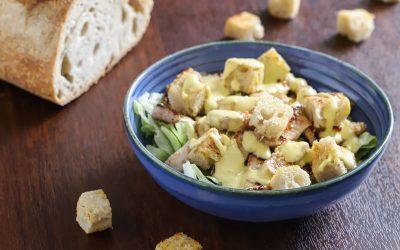 Caesar salad con straccetti