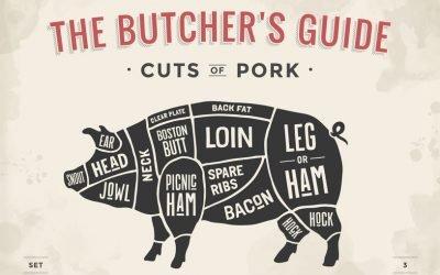 Tagli: quali sono le parti del maiale e come utilizzarle