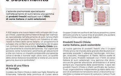 GDOWEEK: Gruppo Chiola la crescita passa da filiera italiana e sostenibilità